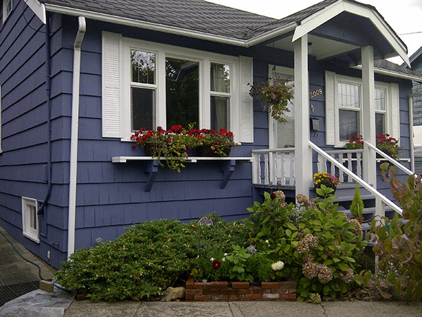 Acrylic Latex Exterior House Paint Home Painting