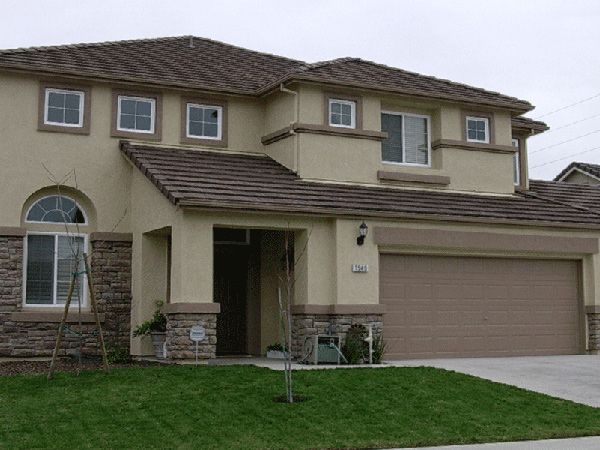 Stucco painting from Kelowna painters \
